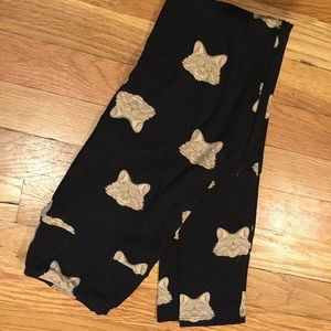 Lularoe wolf leggings OS